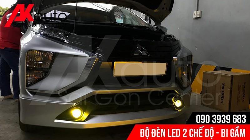 đen led gầm xe xpander nâng cấp