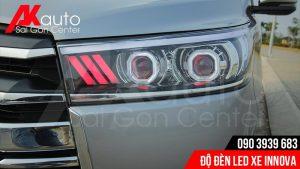chuyên độ đèn led xe innova