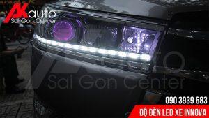 địa chỉ độ đèn led xe innova uy tín hcm