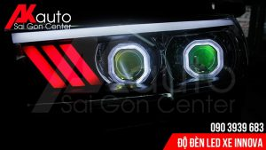 đèn led nâng cấp ánh sáng xe innova