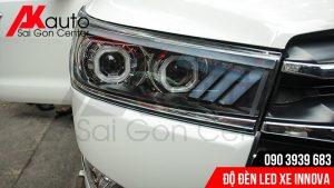 đèn led độ xe innova