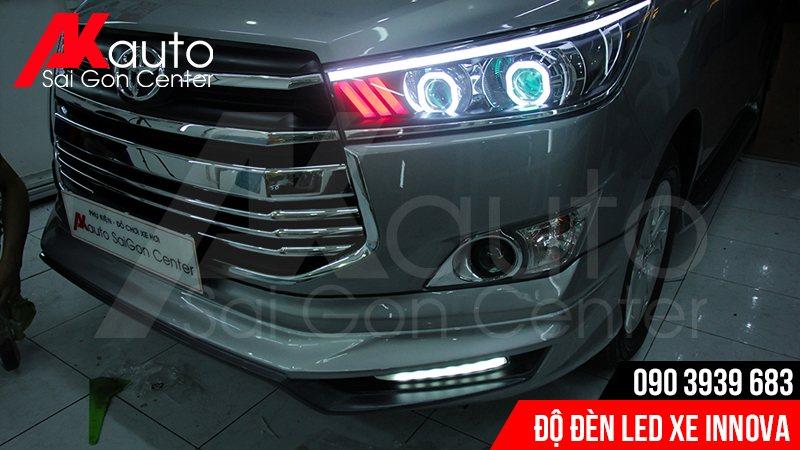 chuyên độ đèn led xe innova uy tín hcm
