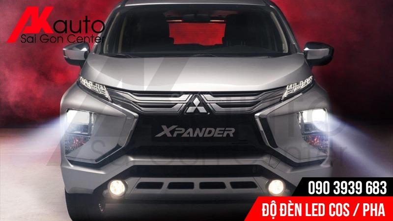 độ đèn led tăng sáng an toàn xe xpander hcm