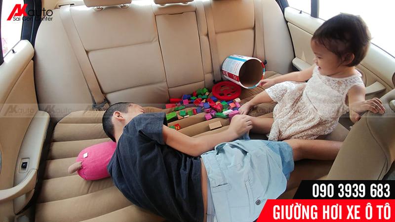 Giường hơi ô tô tiện lợi