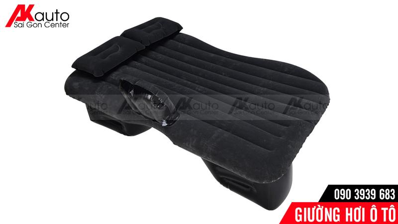 giường hơi ô tô đen