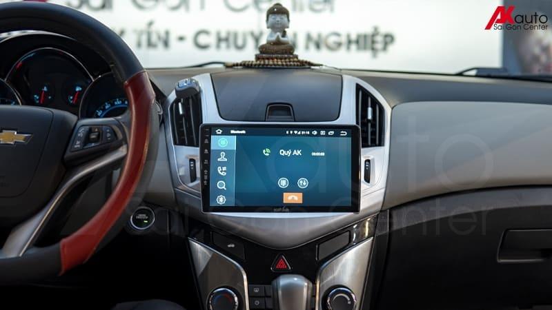 gọi điện rảnh tay trên màn hình ô tô
