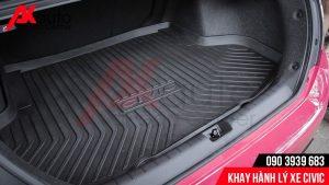 lắp khay nhựa hành lý xe ô tô civic tốt nhất hcm