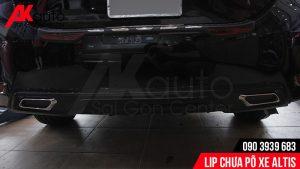 AKauto chuyên cung cấp Lip chia pô xe Altis tại tphcm