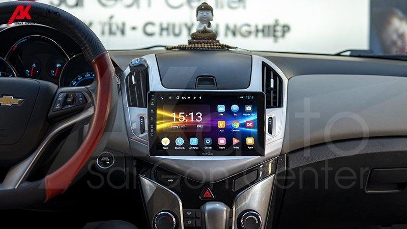 lắp đặt màn hình android ô tô