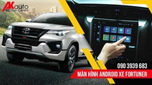 lắp màn hình android fortuner hcm