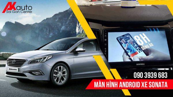 lắp màn hình android sonata hcm