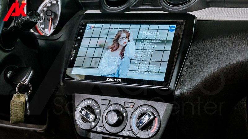 tính năng giải trí màn hình android zestech