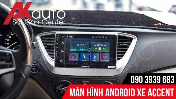 akauto lắp đặt màn hình zestech accent chính hãng hcm