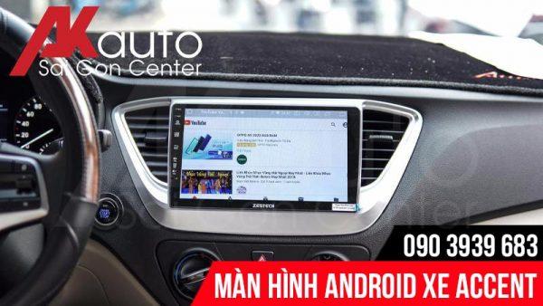 nâng cấp màn hình android Accent