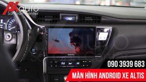 màn hình altis hcm nâng cấp