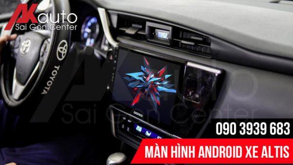 hình ảnh màn hình android altis full hd