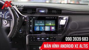 nâng cấp màn hình android altis hcm