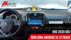 Địa chỉ nâng cấp màn hình ô tô attrage chính hãng hcm