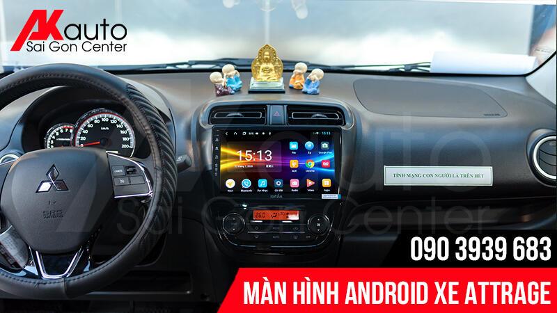 màn hình android ô tô attrage zestech