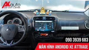 Màn hình Android attrage dẫn đường