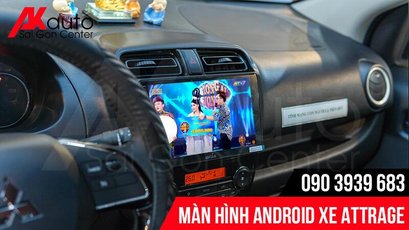 nâng cấp màn hình android attrage hcm