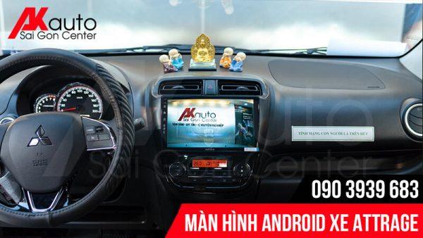 Màn hình attrage hiển thị camera ô tô
