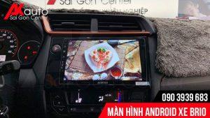 màn hình zestech xe honda brio