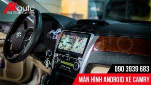 màn hình android camry giải trí đỉnh cao