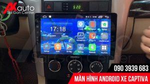 màn hình android ô tô captiva hcm