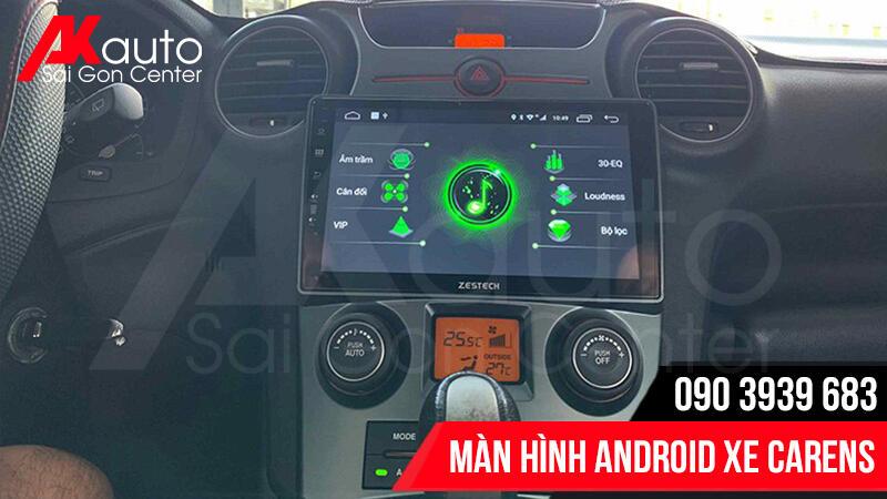 lắp màn hình android carens hcm