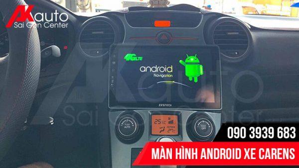màn hình android carens