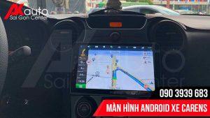 màn hình carens dẫn đường thông minh