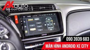 điều chỉnh âm thanh màn hình ô tô city