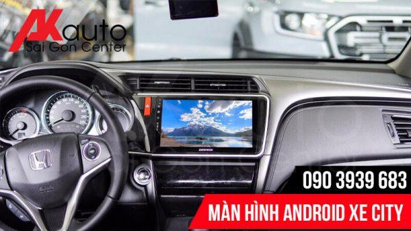 màn hình ô tô city giải trí đa năng