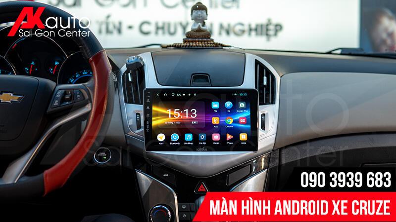 Đại lý màn hình ô tô cruze chính hãng hcm