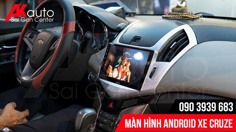 nâng cấp màn hình android cruze hcm