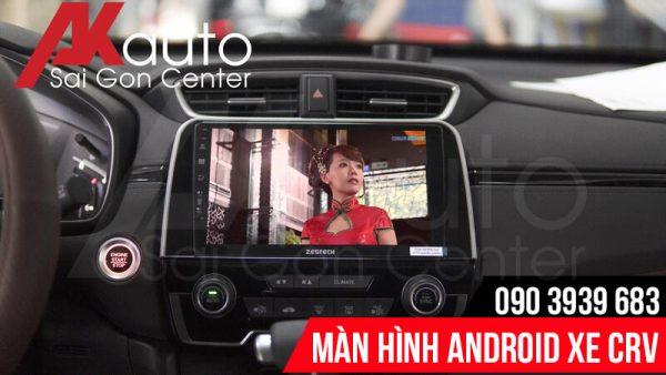 Thiết kế màn hình android CRV cao cấp