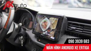 Thiết kế màn hình android Ertiga hiện đại