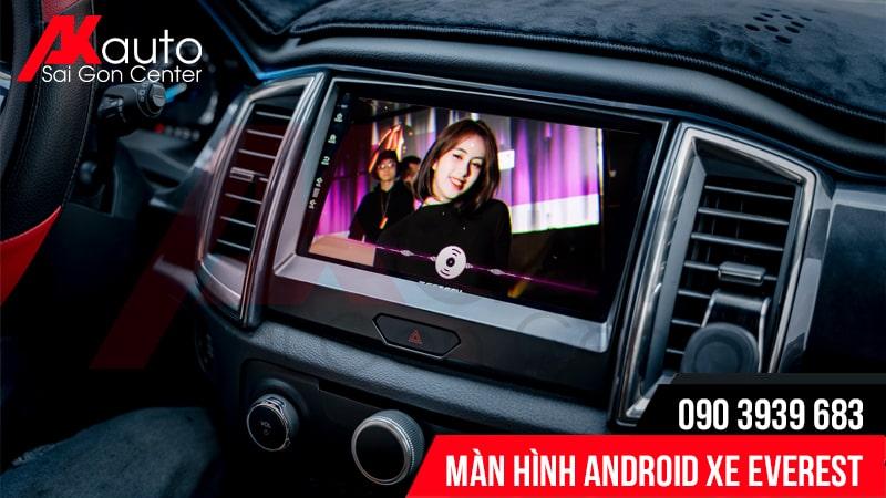màn hình android everest giải trí