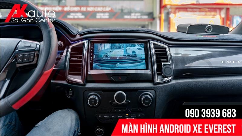 địa chỉ lắp màn hình android everest cao cấp hcm