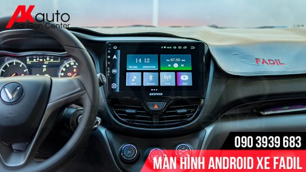 màn hình android ô tô fadil chính hãng