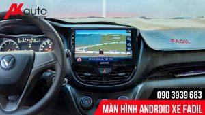 màn hình android fadil dẫn đường bản đồ