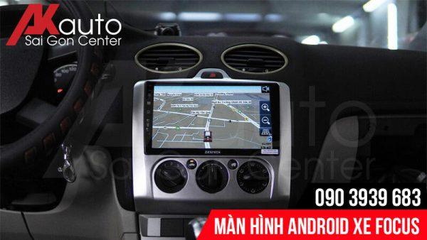 màn hình focus chỉ dẫn đường thông minh