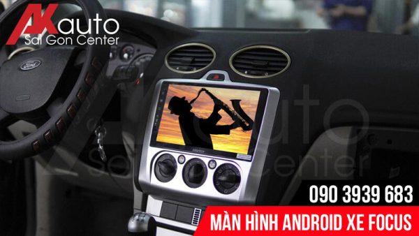 màn hình android focus ô tô