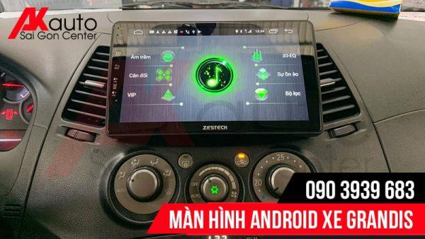 âm thanh dps màn hình ô tô grandis