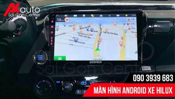 màn hình hilux dẫn đường thông minh