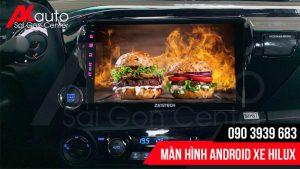 lắp màn hình android hilux chính hãng hcm