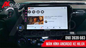 màn hình android Hilux giải trí đa năng