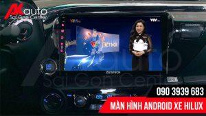 Nâng cấp màn hình android Hilux hcm