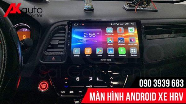 nâng cấp màn hình android HRV chính hãng